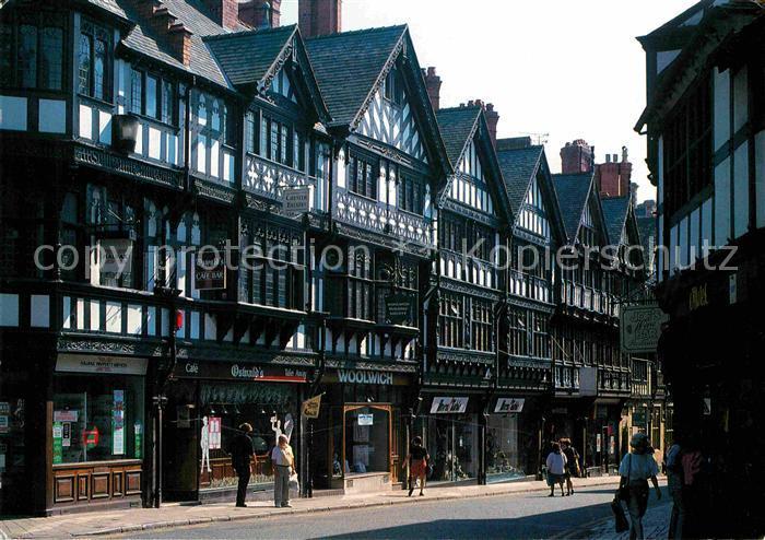 AK / Ansichtskarte Chester Chester le Street St. Werburgh Street Kat. Chester le Street