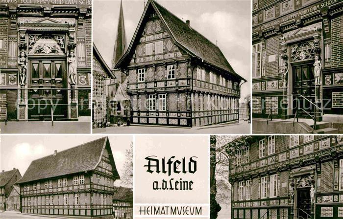 AK / Ansichtskarte Alfeld Leine Heimatmuseum Fachwerk Kat. Alfeld (Leine)
