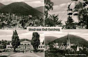 AK / Ansichtskarte Bad Harzburg Burgberg Seilbahn Kurhaus Kat. Bad Harzburg