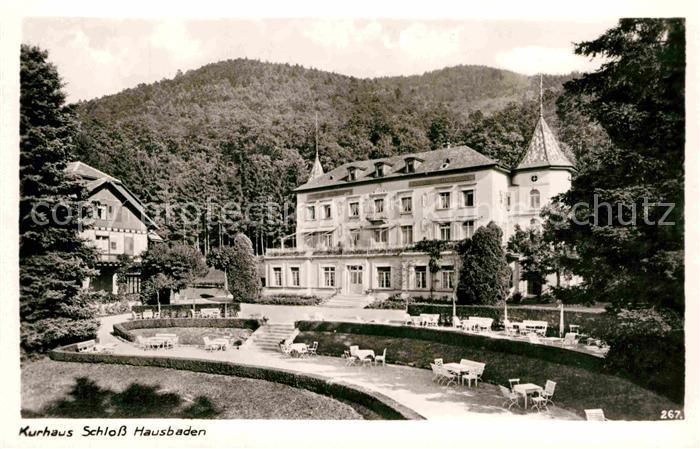 AK / Ansichtskarte Badenweiler Kurhaus Schloss Hausbaden Kat. Badenweiler