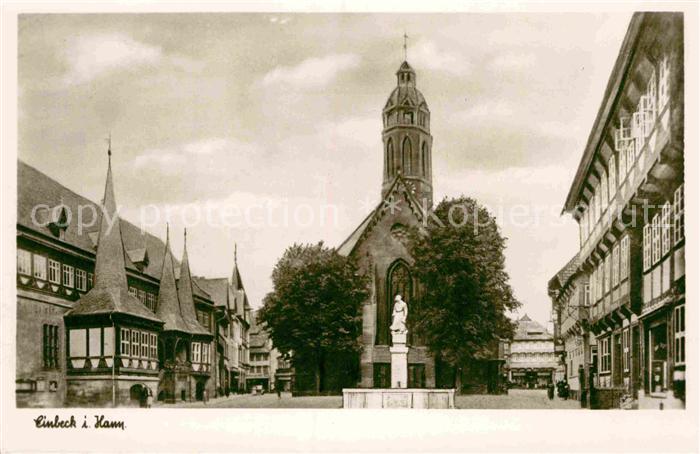 AK / Ansichtskarte Einbeck Niedersachsen Kirche  Kat. Einbeck