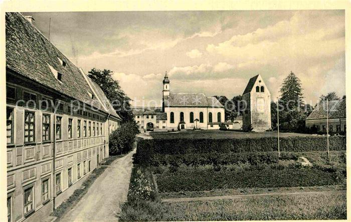 AK / Ansichtskarte Wessobrunn Kloster  Kat. Wessobrunn
