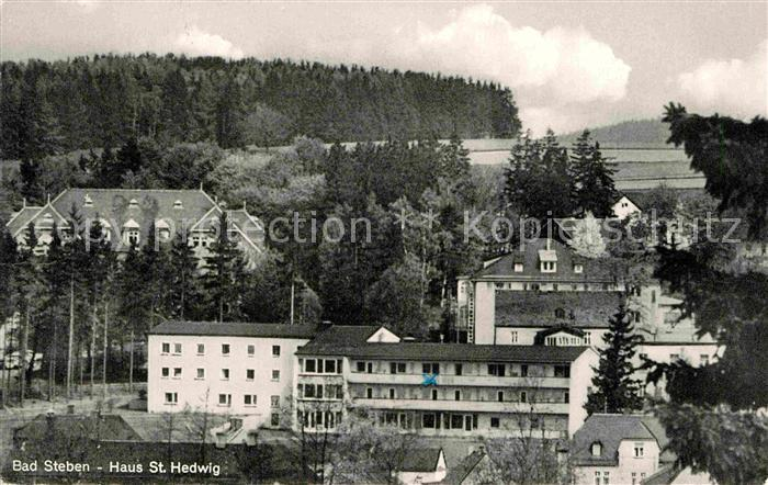 AK / Ansichtskarte Bad Steben Haus Sankt Hedwig Kat. Bad Steben