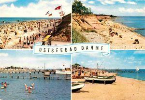 AK / Ansichtskarte Dahme Ostseebad Strand Kat. Dahme
