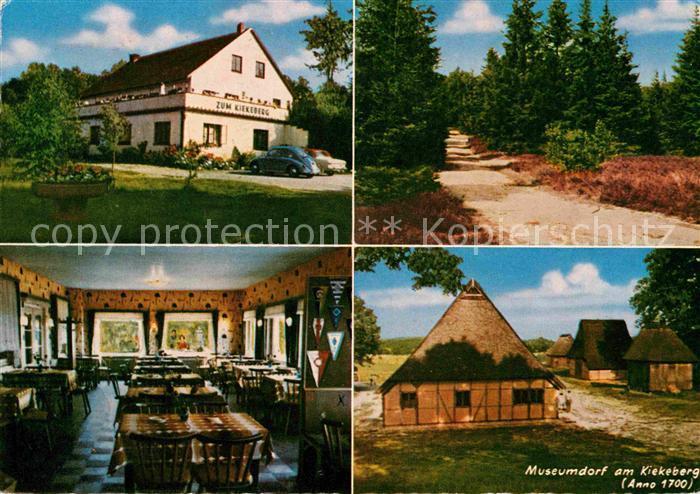 AK / Ansichtskarte Ehestorf Harburg Gasthaus zum Kiekeberg Museumdorf Kat. Rosengarten