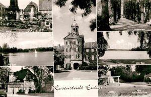 AK / Ansichtskarte Eutin Marktplatz Am See Freilichtbuehne Lindenallee Schloss Kat. Eutin