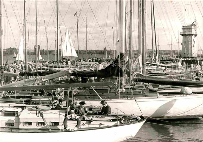 AK / Ansichtskarte Kiel Yacht Klub Kat. Kiel