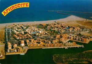 AK / Ansichtskarte Port Leucate Aphrodite Village vue aerienne Kat. Leucate