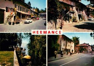 AK / Ansichtskarte Hermance Rue du Nord Embouchure de l Hermance Place Kat. Hermance