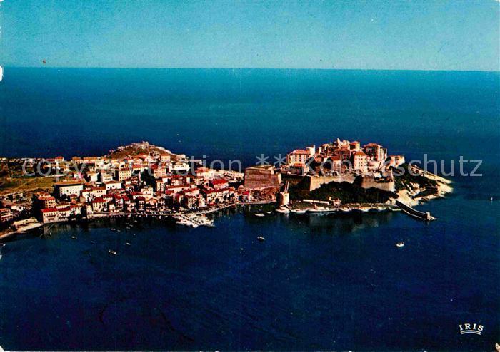 AK / Ansichtskarte Calvi Vue d ensemble de la Citadelle et la Ville vue aerienne Kat. Calvi