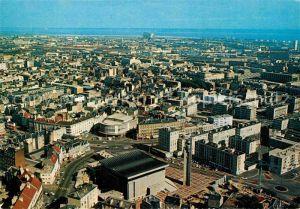 AK / Ansichtskarte Le Havre Centre Ville Quartier Thiers Eglise St Michel vue aerienne Kat. Le Havre