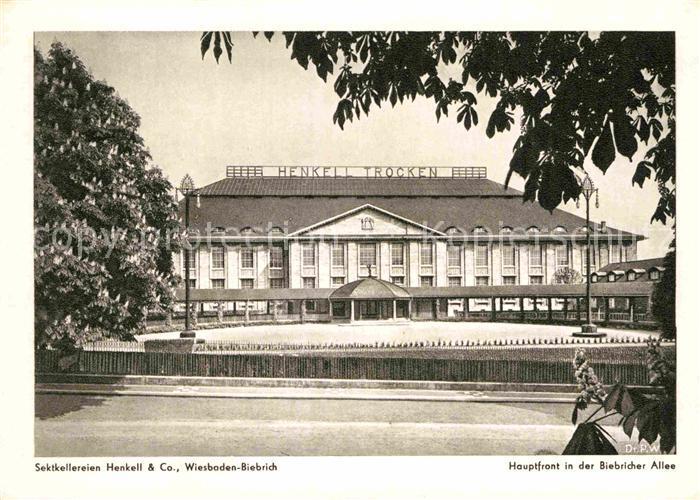 AK / Ansichtskarte Biebrich Wiesbaden Sektkellerei Henkell & Co.