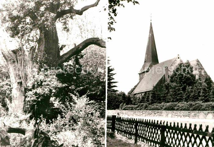 AK / Ansichtskarte Ganderkesee Hasbruch Kirche Kat. Ganderkesee