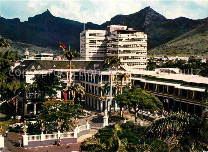 AK / Ansichtskarte Port Louis Palais du Gouvernement Kat. Port Louis