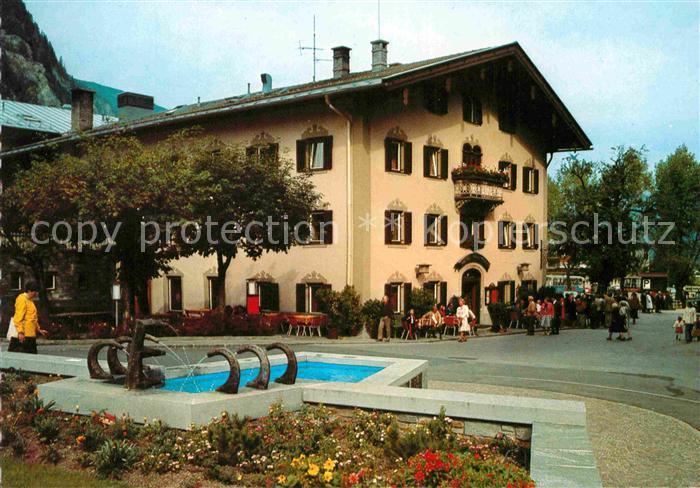 AK / Ansichtskarte Zillertal Tirol Hotel Neue Post