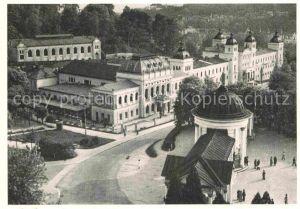 AK / Ansichtskarte Marienbad Tschechien Boehmen Ferdinandsbrunnen Kursaal Neubad  Kat. Marianske Lazne