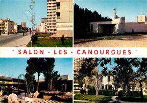 AK / Ansichtskarte Salon de Provence Les Canourgues Kirche Kat. Salon de Provence