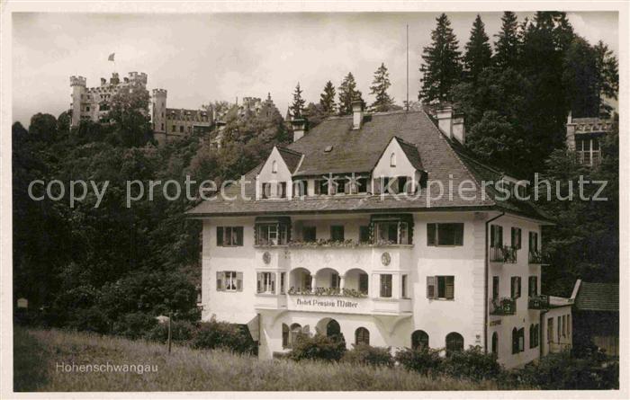 AK / Ansichtskarte Hohenschwangau Hotel Pension Mueller Kat. Schwangau