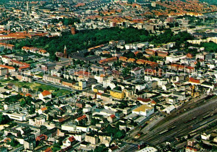 AK / Ansichtskarte Wilhelmshaven Stadtansicht Luftaufnahme Kat. Wilhelmshaven