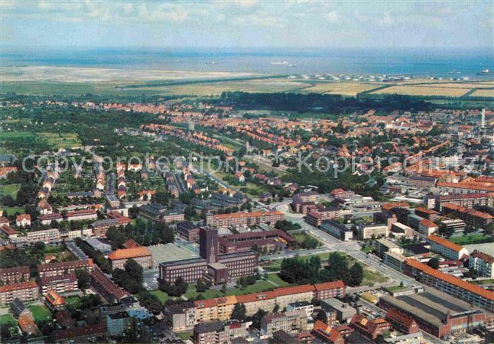 AK / Ansichtskarte Wilhelmshaven Luftaufnahme Kat. Wilhelmshaven