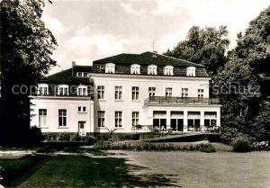 AK / Ansichtskarte Bad Oeynhausen Kursanatorium im Kurpark Kat. Bad Oeynhausen