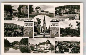 AK / Ansichtskarte Bergzabern Bad Kurheim Friedrichsruhe Panorama Stauwehr Panorama  Kat. Bad Bergzabern