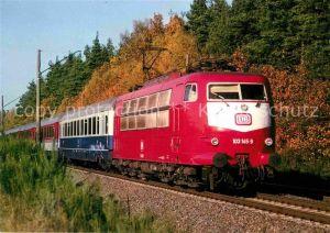 AK / Ansichtskarte Eisenbahn Elektrische Schnellzuglokomotive 103145 9 IC 681 Rednitzhembach Kat. Eisenbahn