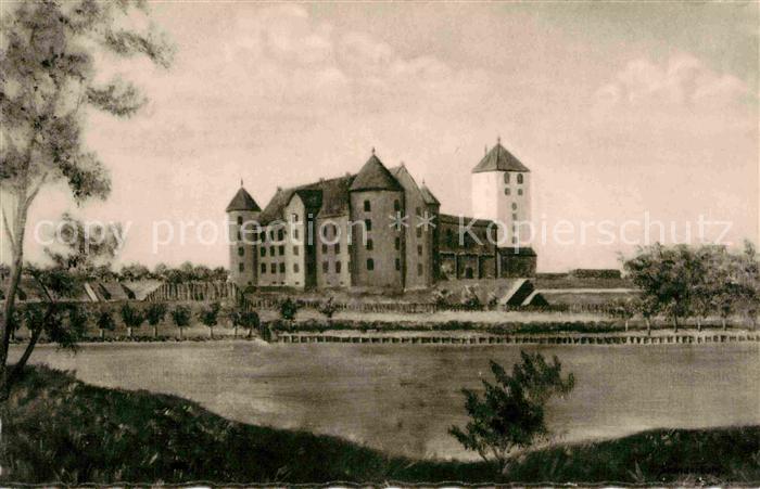 AK / Ansichtskarte Skanderborg Slot Schloss Kat. Skanderborg