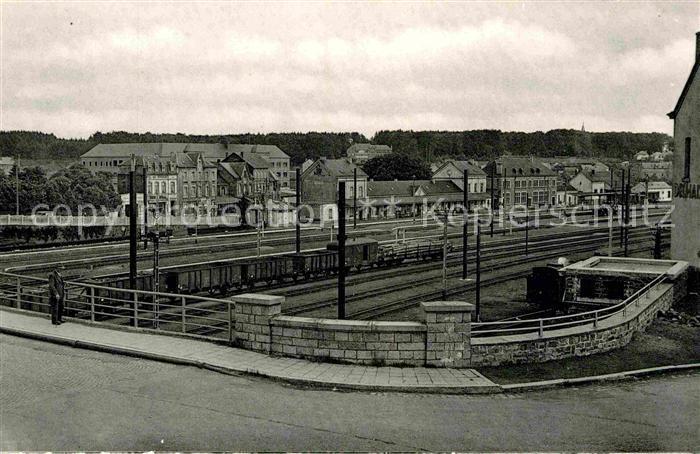 AK / Ansichtskarte Libramont La gare et les voies du chemin de fer Kat.