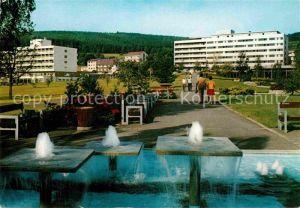 AK / Ansichtskarte Bad Soden Salmuenster Neuer Kurpark Wasserspiele Kat. Bad Soden Salmuenster