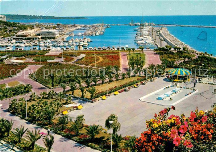 AK / Ansichtskarte Cannes Alpes Maritimes Vue generale sur le nouveau port Cote d Azur Kat. Cannes