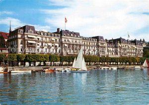 AK / Ansichtskarte Lucerne Luzern Grand National Hotel Kat. Luzern