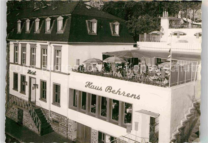 AK / Ansichtskarte Bernkastel Kues Haus Behrens  Kat. Bernkastel Kues
