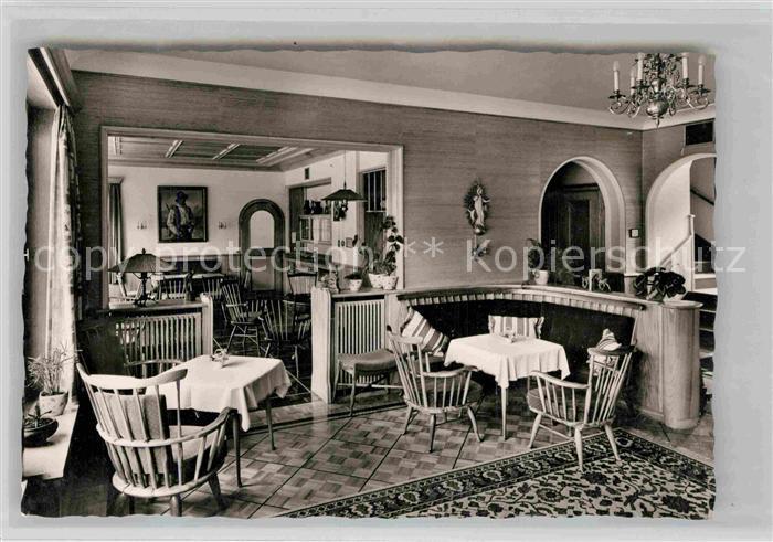 AK / Ansichtskarte Hindelang Haus Wechs Gaestezimmer Kat. Bad Hindelang