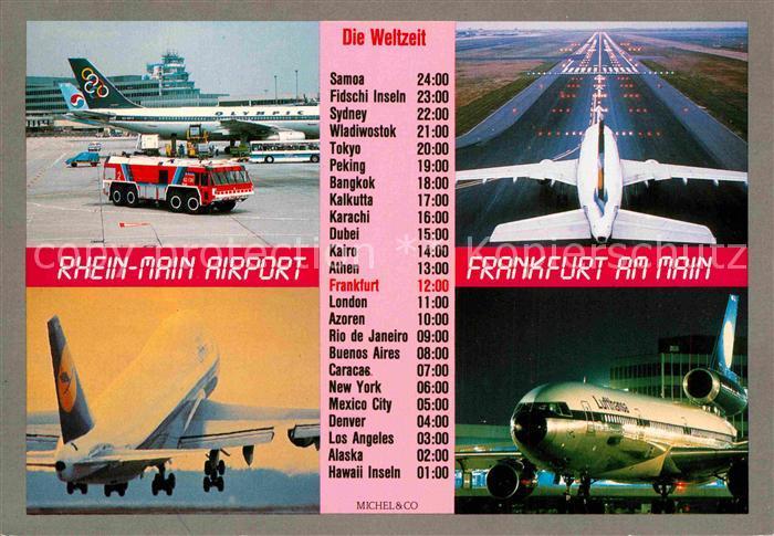 Flugplan Frankfurt New York