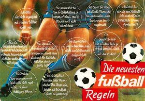 AK / Ansichtskarte Fussball Fussball Regeln Humor  Kat. Sport