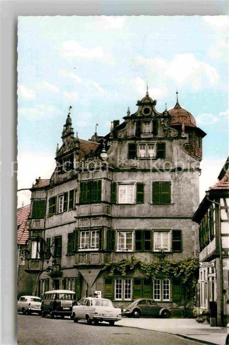 ak bergzabern rheinpfalz k nigstrasse mit gasthof engel nr 7911602 oldthing. Black Bedroom Furniture Sets. Home Design Ideas