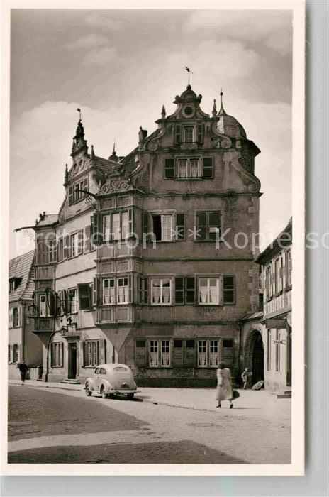 ak bergzabern hotel zum engel nr 8561460 oldthing ansichtskarten deutschland plz 70 79. Black Bedroom Furniture Sets. Home Design Ideas