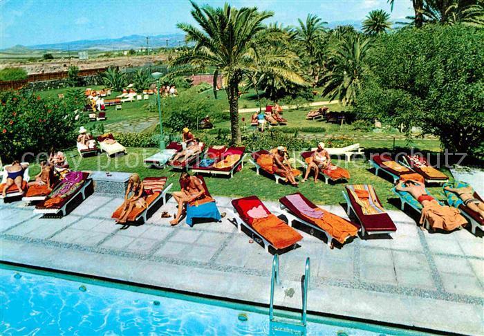 AK / Ansichtskarte Maspalomas Hotel Maspalomas Oasis Swimming Pool Kat.  Gran Canaria Spanien