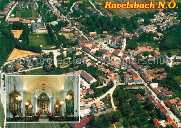 AK / Ansichtskarte Ravelsbach Niederoesterreich Innenansicht Pfarrkirche Marie Himmelfahrt  Kat. Ravelsbach