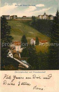 AK / Ansichtskarte Freudenstadt Hotel Waldeck Christophsthal Kat. Freudenstadt