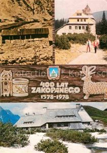 AK / Ansichtskarte Zakopane Schronisko PTT  Kat. Polen