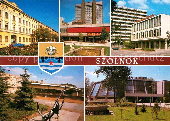 AK / Ansichtskarte Szolnok Teilansichten Gebaeude Kat. Szolnok