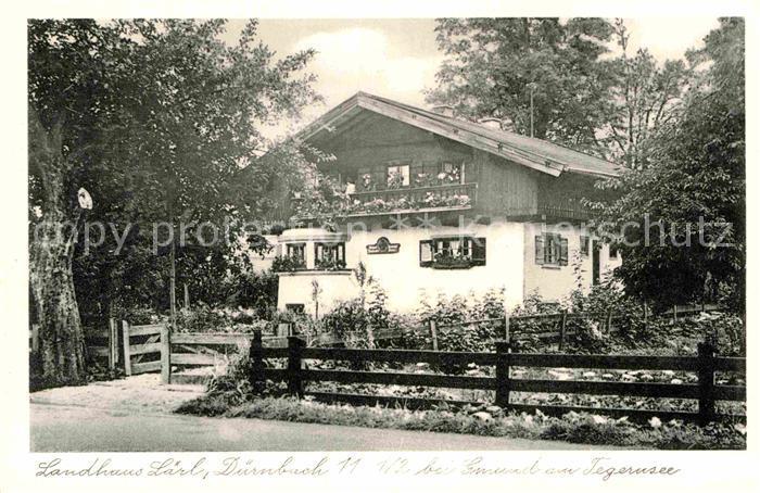 AK / Ansichtskarte Duernbach Tegernsee Landhaus Laerl Kat. Gmund a.Tegernsee