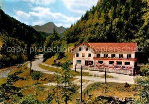 AK / Ansichtskarte Schwarzau Gebirge Gasthaus zur Singerin  Kat. Schwarzau im Gebirge