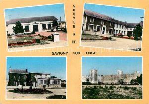 AK / Ansichtskarte Savigny sur Orge Salle des Fetes Mairie Poste Grand Vaux  Kat. Savigny sur Orge
