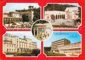AK / Ansichtskarte Iwonicz Zdroj Dom Zdrojowy Bazar Plac Szpital Pijalnia Sanatorium Kat. Krosno
