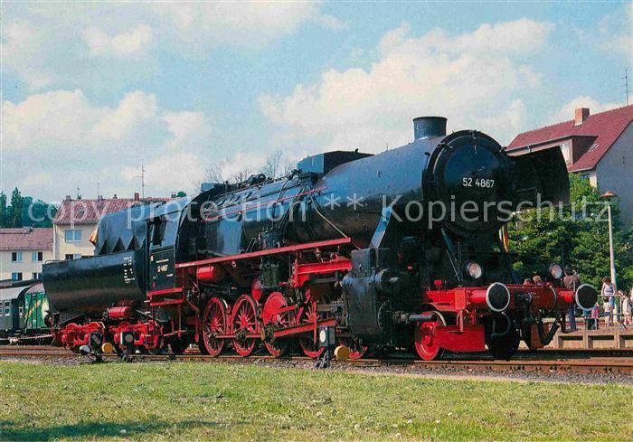 AK / Ansichtskarte Lokomotive Damp Gueterzug Lokomotive 524867 Historische Eisenbahn Frankfurt  Kat. Eisenbahn