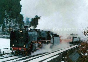 AK / Ansichtskarte Lokomotive Dampf Schnellzuglokomotive 01118 Historische Eisenbahn Frankfurt  Kat. Eisenbahn