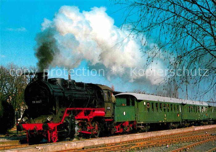 AK / Ansichtskarte Lokomotive Gueterzug Lokomotive 563007 Deutsche Museums Eisenbahn  Kat. Eisenbahn